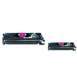 INSTEN Magenta Toner Cartridge for HP C9703A/ Q3963A (Pack of 2)