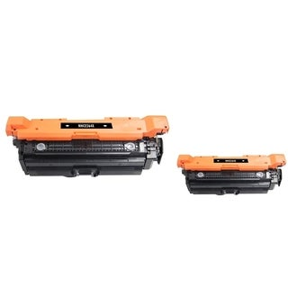 INSTEN Black High-Yield Toner Cartridge for HP CE264X (Pack of 2)