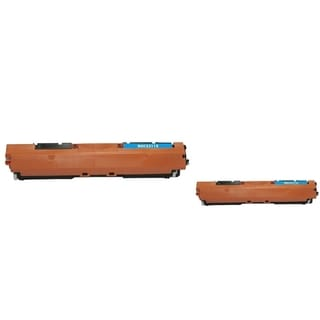 INSTEN Cyan Toner Cartridge for HP CE311A (Pack of 2)