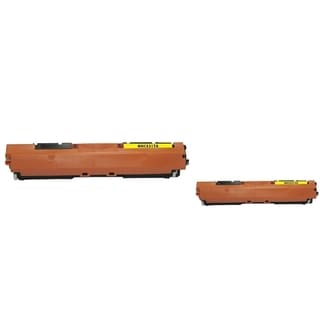 INSTEN Yellow Toner Cartridge for HP CE312A (Pack of 2)