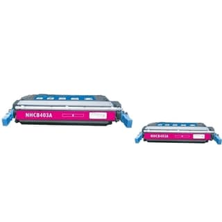 INSTEN Magenta Toner Cartridge for HP CE403A (Pack of 2)