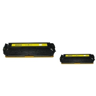 INSTEN Yellow Toner Cartridge for HP CE412A (Pack of 2)