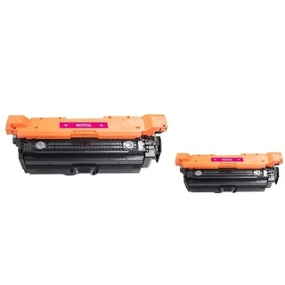 INSTEN Magenta Toner Cartridge for HP CF033A (Pack of 2)