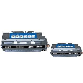 INSTEN Black Toner Cartridge for HP Q2670A (Pack of 2)