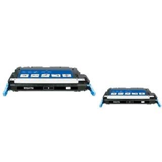 INSTEN Black Toner Cartridge for HP Q6470A (Pack of 2)