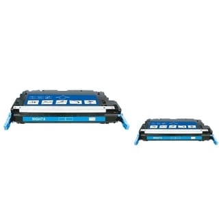 INSTEN Cyan Toner Cartridge for HP Q6471A (Pack of 2)
