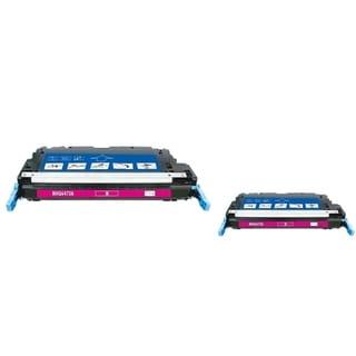 INSTEN Magenta Toner Cartridge for HP Q647AA (Pack of 2)
