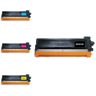 Refilled INSTEN 4-ink Cartridge Set for Brother TN210