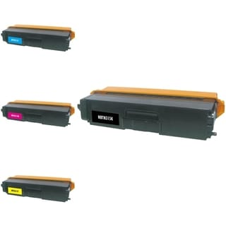 INSTEN 4-ink Cartridge Set for Brother TN310/ TN315