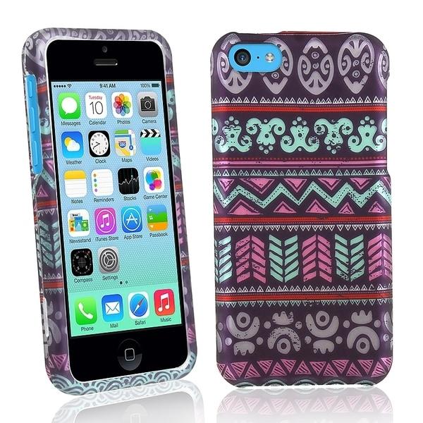 BasAcc Elegant Aztec Rubber Coated Case for Apple® iPhone 5C