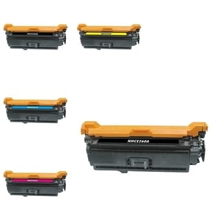 INSTEN 5-ink Cartridge Set for HP Color LaserJet