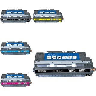 INSTEN 5-ink Cartridge Set for HP Q2670A
