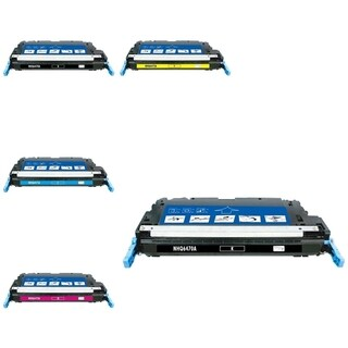 INSTEN 5-ink Cartridge Set for HP Q6470A
