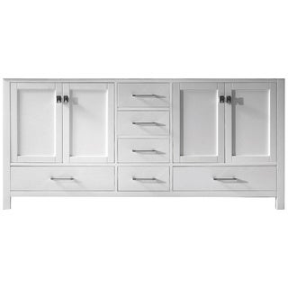 Virtu USA Caroline Avenue 72-inch Double Sink Vanity Cabinet Only