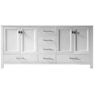 Virtu USA Caroline Avenue 72 Inch Double Sink Vanity Cabinet Only