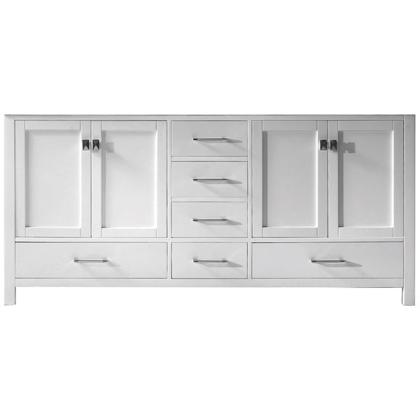 Merveilleux Virtu USA Caroline Avenue 72 Inch Double Sink Vanity Cabinet Only