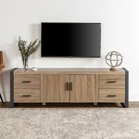 70-inch Urban Blend Wood TV Stand