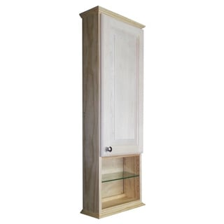 Ashley Series 42x2.5-inch Unfinished Wood On-the-Wall Cabinet