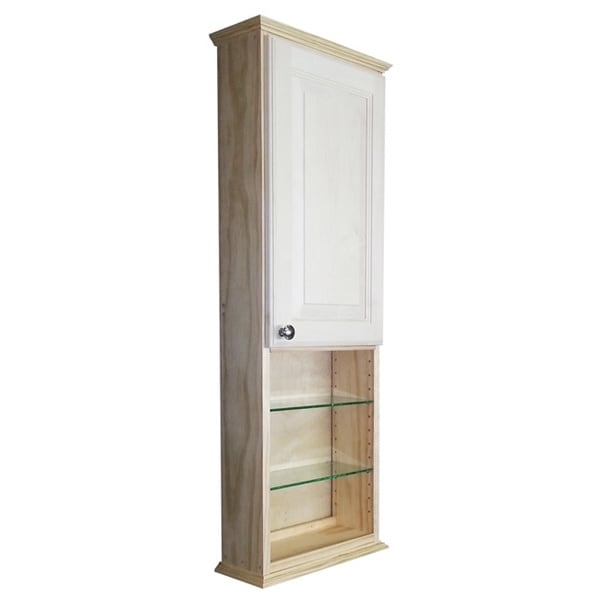 8 inch deep cabinet shop series 48x2 5 inch unfinished wood wall 3946