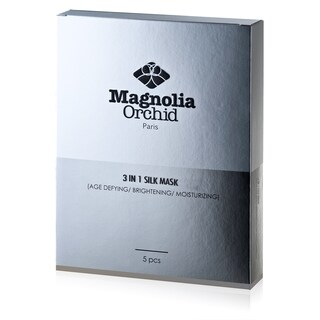 Magnolia Orchid 3-in-1 Silk Mask (5 pieces)