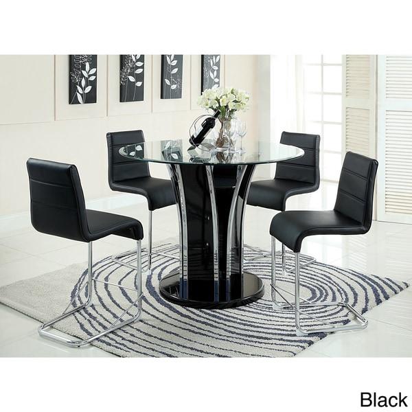 Furniture of America Ziana Contemporary 5-Piece 48-inch Counter ...