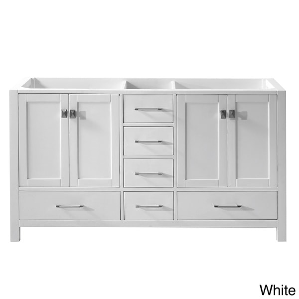 Bathroom Vanities Double Sink 60 Inches virtu usa caroline avenue 60-inch double sink bathroom vanity
