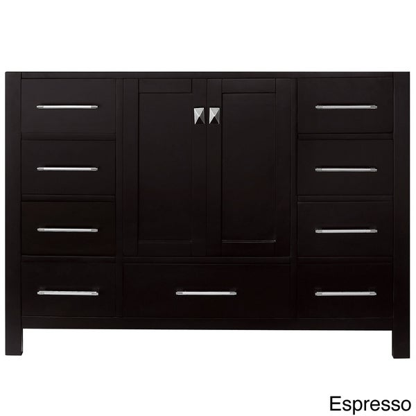 virtu usa caroline avenue 48 inch single sink bathroom vanity cabinet free shipping today