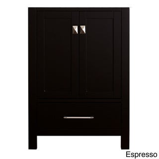 Virtu USA Caroline Avenue 24-inch Single Sink Bathroom Vanity Cabinet