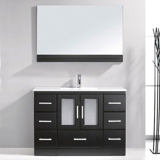 Virtu USA Zola 48-inch Single Sink Bathroom Vanity Set