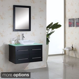 Virtu USA Marsala 36-inch Single Sink Bathroom Vanity Set