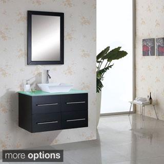 Virtu USA Marsala 36-inch Single Sink Bathroom Vanity Set