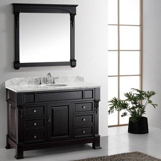 Virtu USA Huntshire Manor 48-inch Single Sink Bathroom Vanity Set