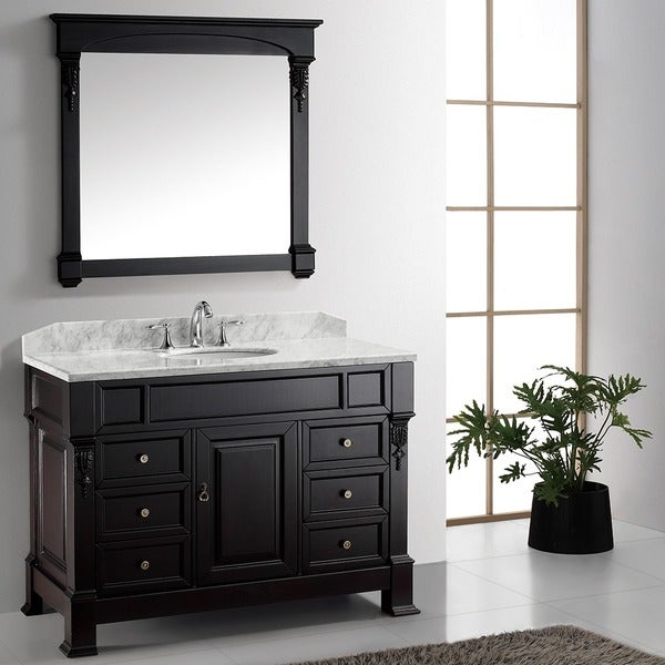 Virtu USA Huntshire Manor 48-inch Single Sink Bathroom Vanity Set
