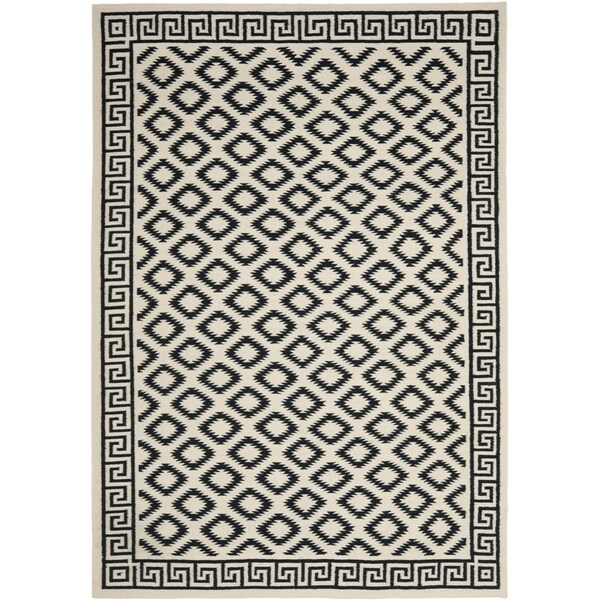 Safavieh Hand Woven Moroccan Reversible Dhurrie Ivory