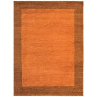 Safavieh Hand-knotted Gabbeh Multi-Colored Wool Rug - 6' x 9'