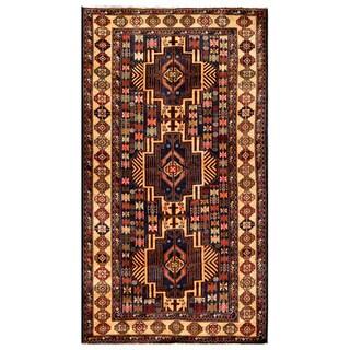 Handmade Balouchi Wool Rug (Afghanistan) - 3'8 x 6'10