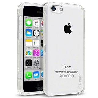 Insten Clear Slim Hard Plastic PC Crystal Snap-on Phone Case for Apple iPhone 5c