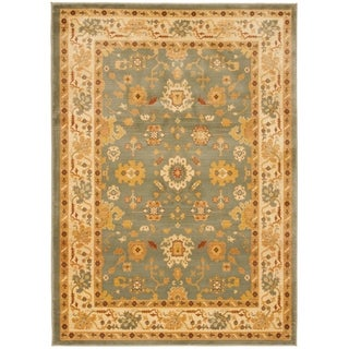 Safavieh Oushak Heirloom Traditional Grey/ Cream Rug (6'7 x 9'1)