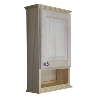 24-inch 6-inch open shelf 7.25 inch deep Ashley Series On the Wall Cabinet