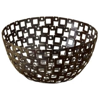 12-inch Square Pattern Metal Basket