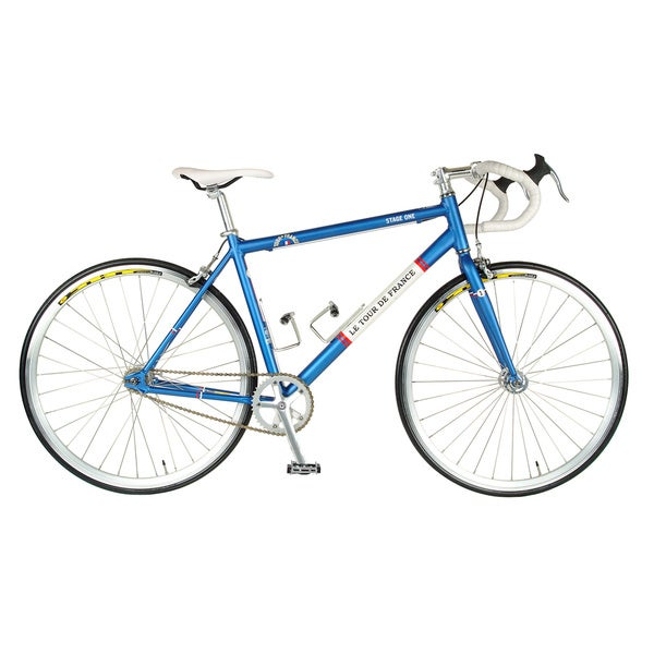 Stage One Vintage Blue 56cm Fixed Gear Bicycle