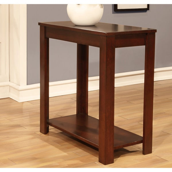 Cherry Finish Wooden End Table