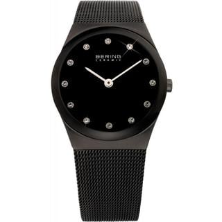 Bering Time Women's Slim Black Dial Watch