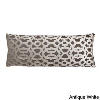 Damon Scroll 14 x 37-inch Down Filled Throw Pillow