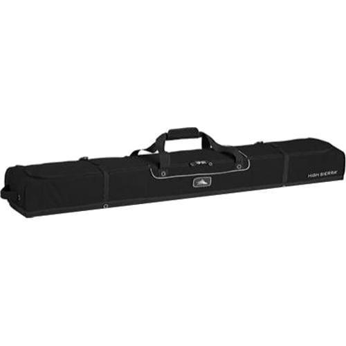 High Sierra Deluxe Double Ski Bag Black