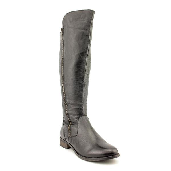 6341d6fa8e5 Shop Women's Steve Madden Shawny Black Leather - Free Shipping Today ...