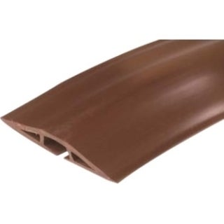 On-Q/Legrand Corduct 15' Overfloor Cord Protector, Brown