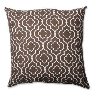 Pillow Perfect Donetta Chocolate 24.5-inch Floor Pillow