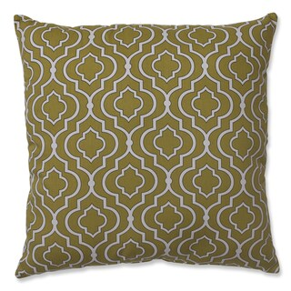 Pillow Perfect Donetta Green 24.5-inch Floor Pillow