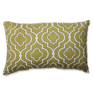 Pillow Perfect Donetta Green Rectangular Throw Pillow